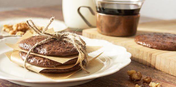 Flourless, Butterless Chocolate Cookies Post Image