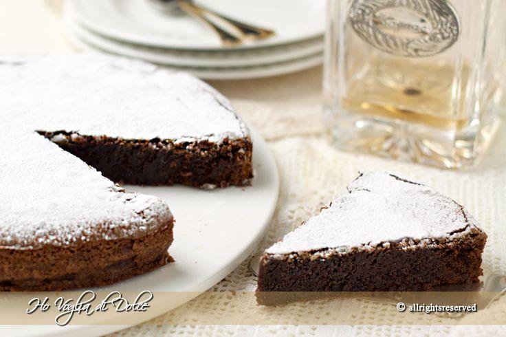 Torta caprese al cioccolato, ricetta dolce | Ho Voglia di Dolce