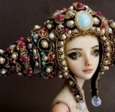 How to make polymer clay dolls.