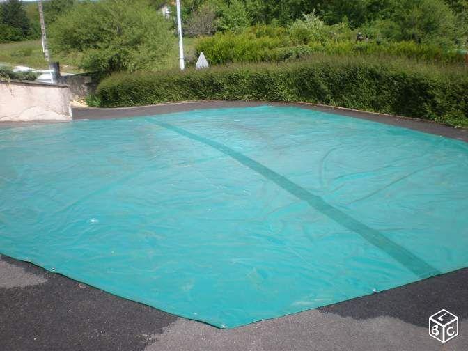 Bâche d'hivernage pour piscine hoctogonale
