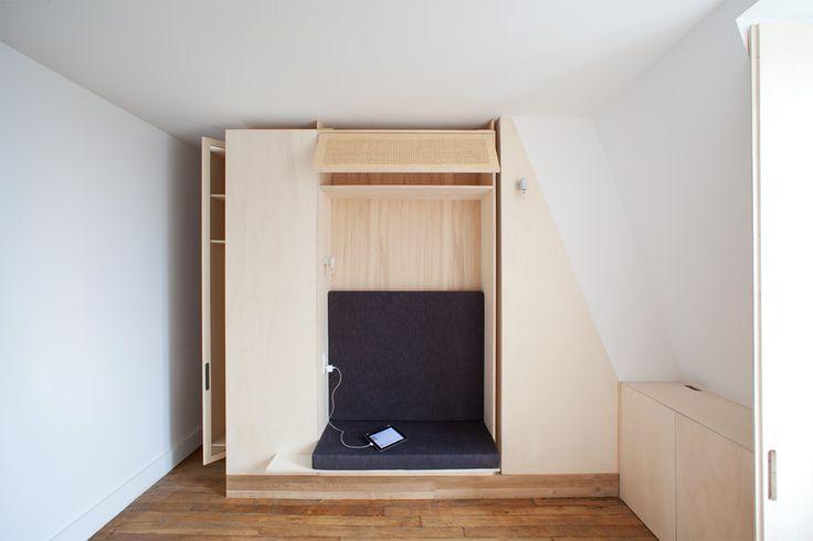 Détails petite pièce, Mouffetard, Paris # Details small room, Mouffetard, Paris