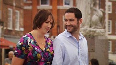 "Miranda & Gary from BBC's ""Miranda"""