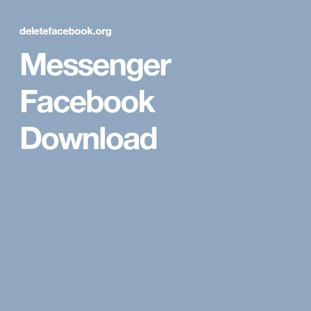 Messenger Facebook Download