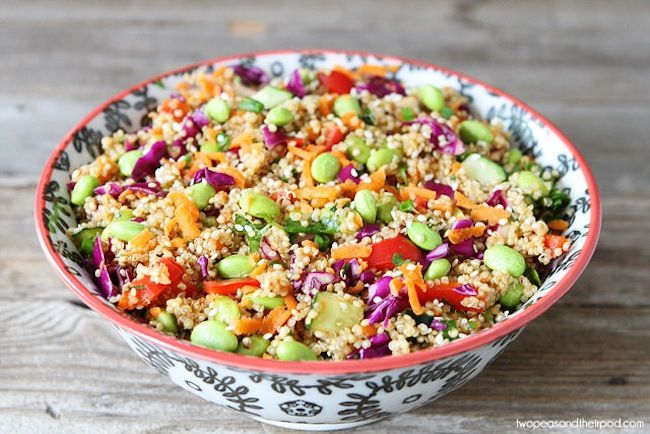 Asian Quinoa Salad   Skinny Mom   Where Moms Get The Skinny On Healthy Living