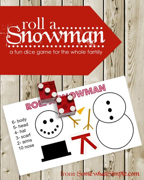 Top 10 Christmas Party Games: Winter Craft Time! 10 Cute Snowmen You Can Make