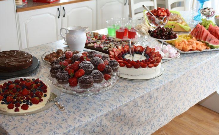 Bursdagsplanlegging // 2 dager med kakefest: hva og hvordan // krem.no