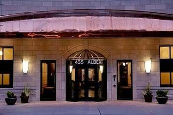 Albert At Bay Suite Hotel, located in downtown Ottawa, Ontario, at 435 Albert Street.