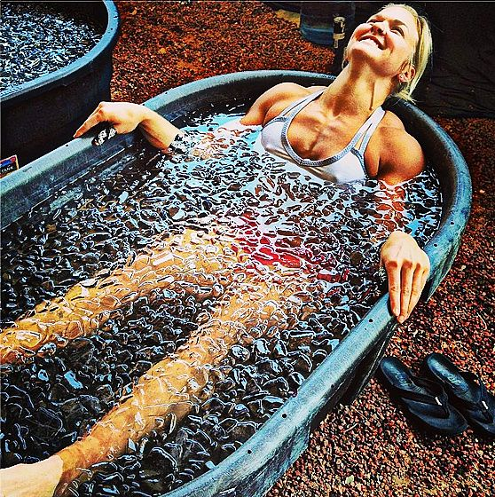 the benefits of ice baths