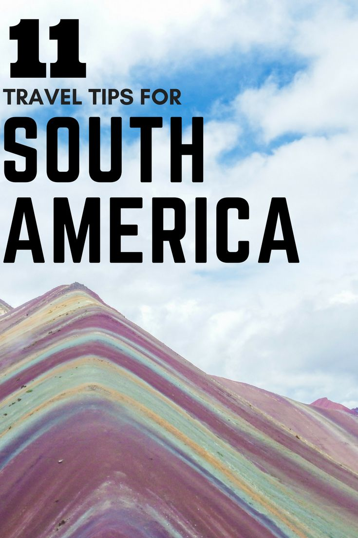 Travel South America for an adventure you won't forget. A continent blessed with culture, delicious food, wonderful people, vibrant cities and incredible landscape – it's the perfect destination to add to your bucket list. Check out the 11 things everyone should know before they travel South America.