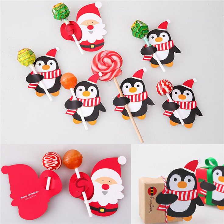 how to make christmas lollipop decorations