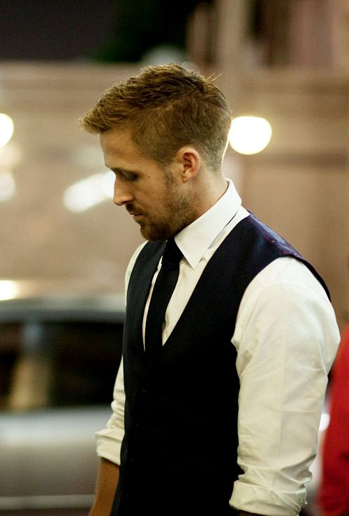 Always handsome. Ryan Gosling