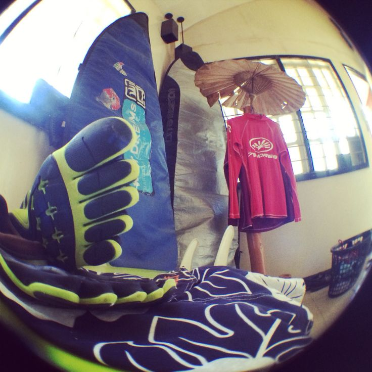 Fisheye waiting for typhoon.lol