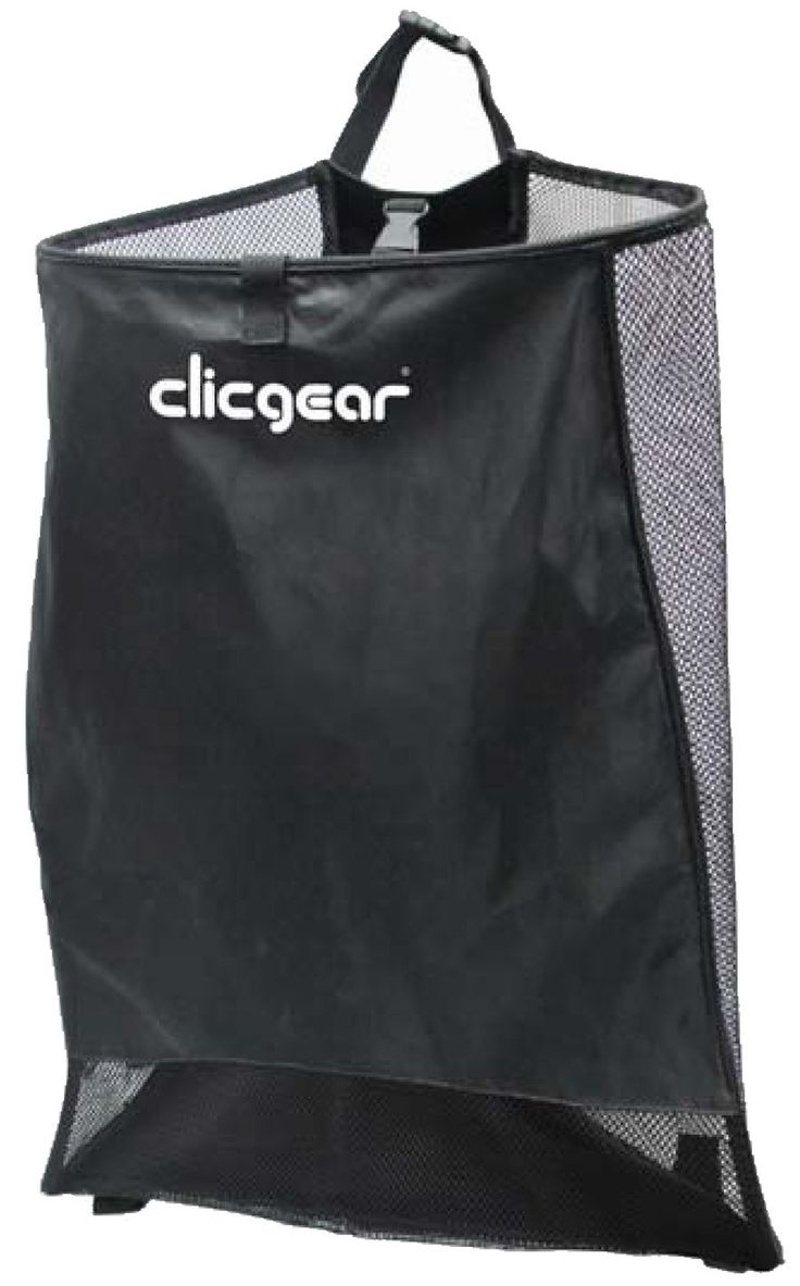 Offering extra large storage space this golf accessory mesh storage net by Clicgear will provide you with ample storage for you golfing accessories!