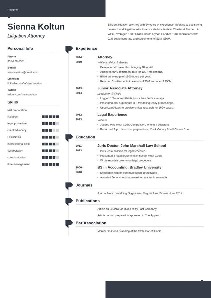 Attorney resume 2021 dentist resume resume examples