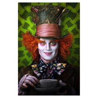 Johnny Depp Mad Hatter From Tim Burton's Wonderland!