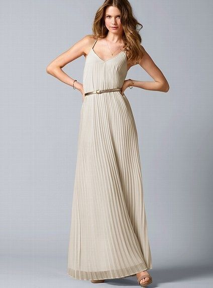 Cream pleated maxi dress - 59 Best Client Wardrobe Images On Pinterest Maxi Dresses, Maxis