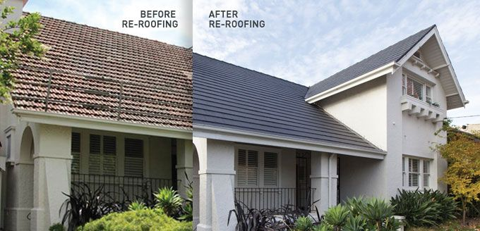 A new roof adds to the look and value of your home.