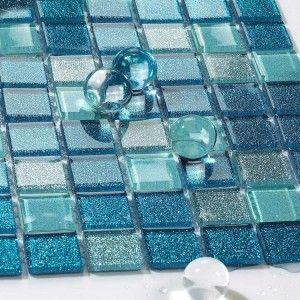 Contemporary Glass Tile Mosaic