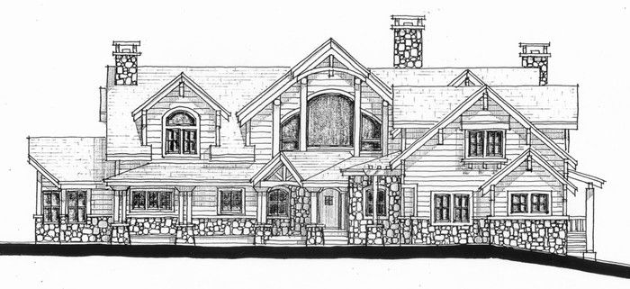 46 best images about craftsman homes on pinterest Sip house plans craftsman