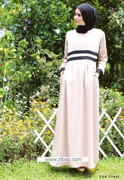 Lexi Dress - Klik gambar untuk melihat detail dan harga produk Juniperlane di website zilbab.com. Hijab, Jilbab, Fashion Hijab, Juniperlane Hijab, Hijabi, Juniper Hijab, Juniper Lane.