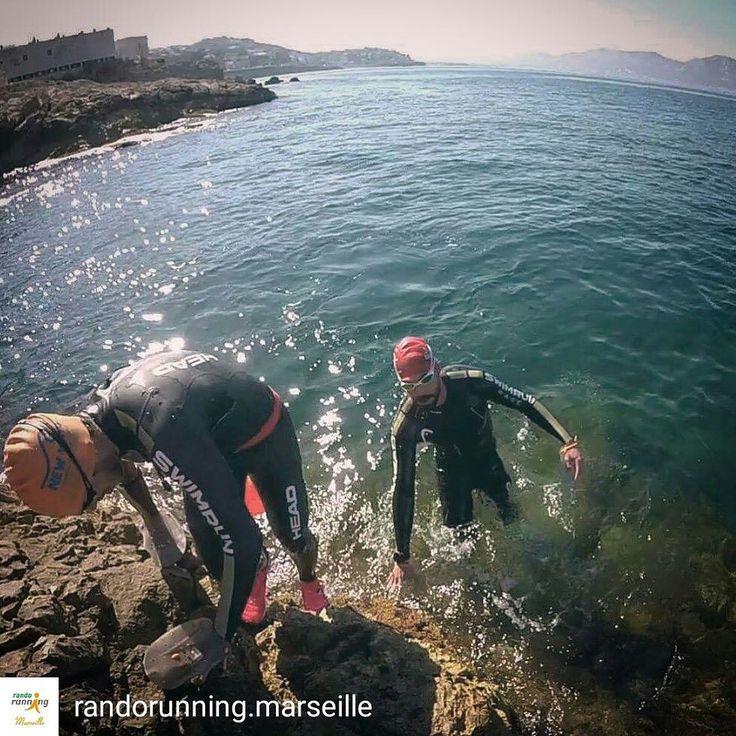 From @randorunning.marseille . . Sunrise lover  #randorunningmarseille #swimrun #igersmarseille #pickoftheday #swimming #running #swimrunning #triathlon #ironman #swimrunmarseillecommunity #paca #bestmoments #sunrise #marseille #southoffrance #mediterraneansea #mediterraneansummer #summer #headswimming #trail #training #otilloswimrun #otillo