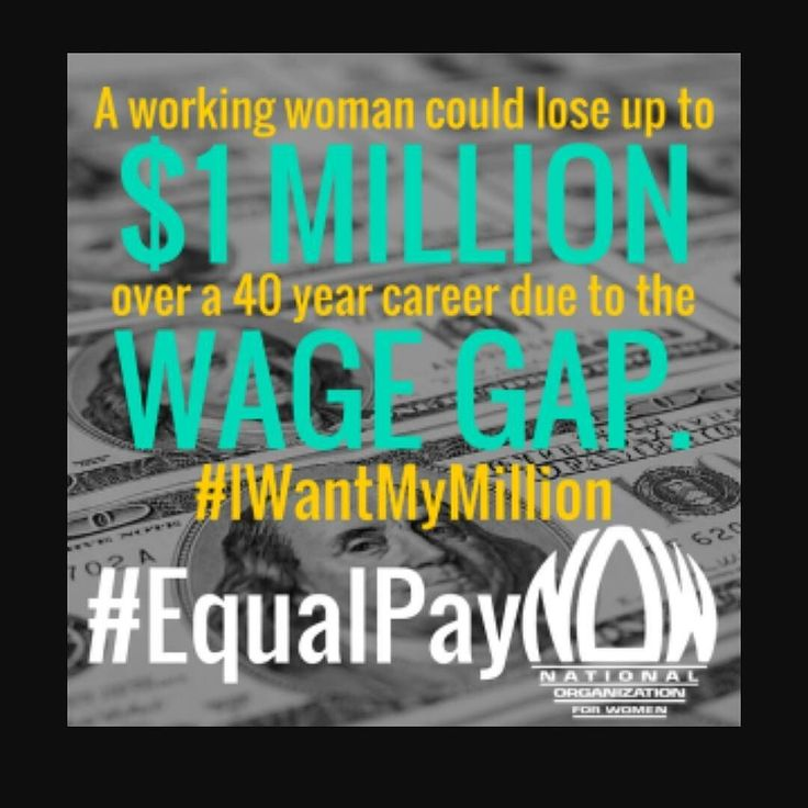 #EqualPayNOW #WOC #blackwomenequalpayday #blackwomenequalpay $10500 Less Income  The wage gap of 80 cents (rounded up from 79.6 percent) is the median earnings in 2015 (latest data available) of women full-time year round workers as a percentage of the median earnings of men full-time year round workers according to the Current Population Survey U.S. Census Bureau. The median earnings describe the pay for a worker at the exact middle of all workers (in a category) working at least 35 hours…