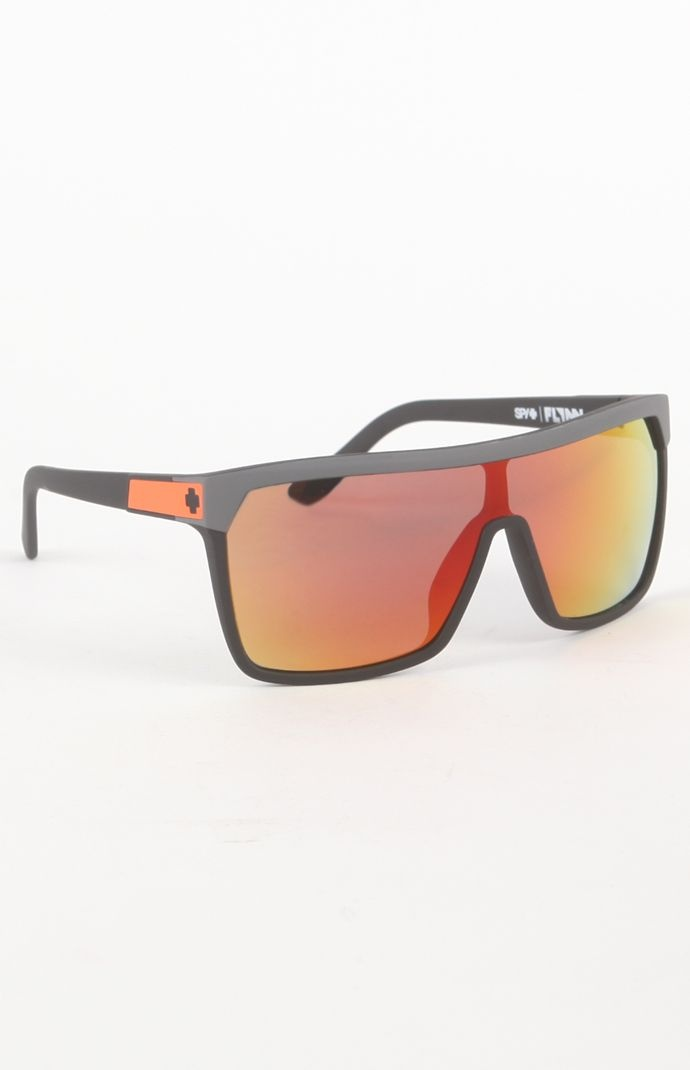 (Limited Supply) Click Image Above: Mens Spy Sunglasses - Spy Flynn Orange Sunglasses