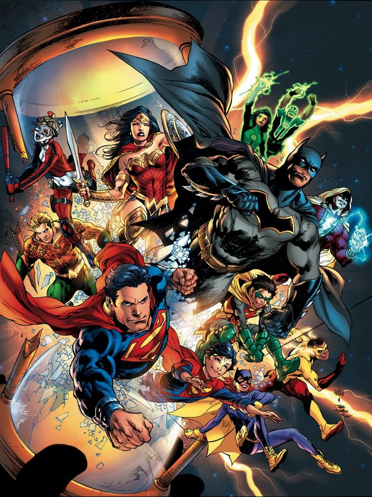 DC UNIVERSE: REBIRTH OMNIBUS EXPANDED EDITION HC Written by VARIOUS Art by VARIOUS Cover by IVAN REIS and JOE PRADO