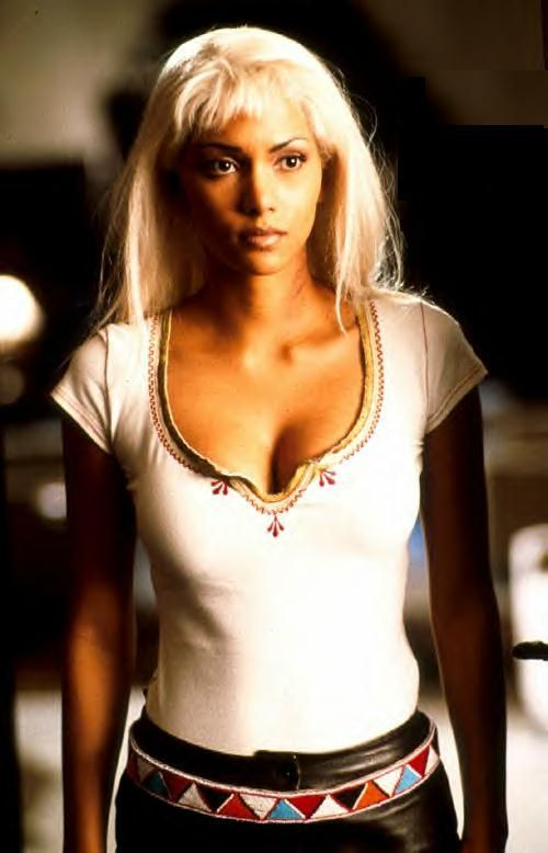 Halle Berry as Ororo Munroe / Storm in X-Men
