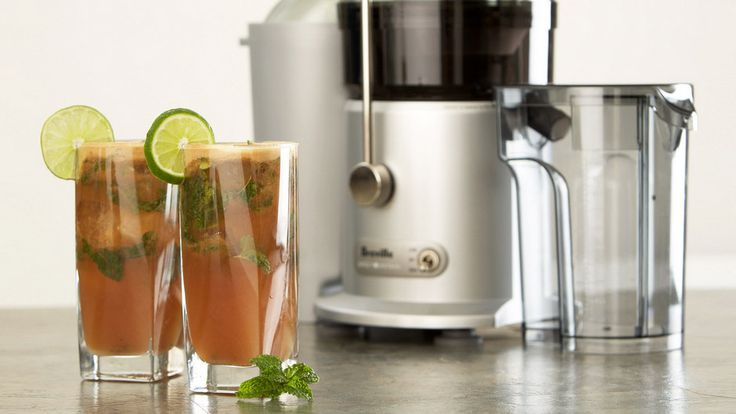 A Real Asian Pear Mojito: Mixology and a Breville juicer | Food Thinkers by Breville