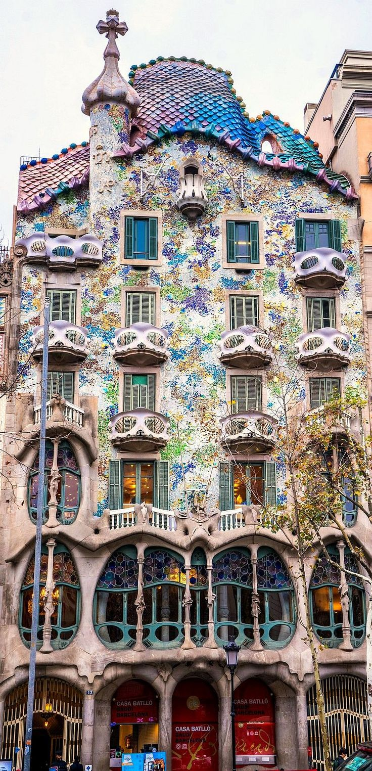 Casa Batllo by Gaudi                                                       …                                                                                                                                                                                 More