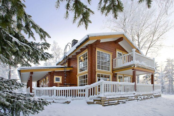 Holiday home Tahko - unique model - Kuusamo Log Houses