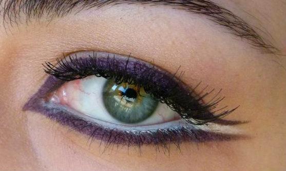 Make-up compulsivo: Ciglia finte: evviva! Review e look