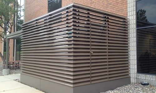 Louvered Aluminum Industrial Doors Google Search Z