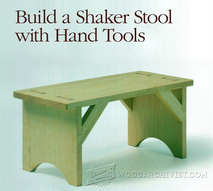 26 best wwmm furniture images on pinterest woodworking shaker stool plans furniture plans and projects woodarchivist greentooth Choice Image