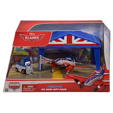Disney Planes Diecast Bulldog Pit Row Gift Pack - The Entertainer - The Entertainer