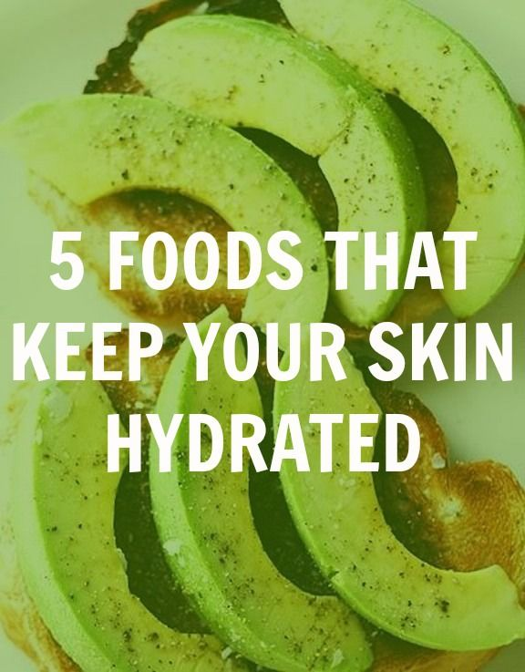 foods that keep your skin hydrated
