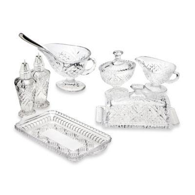 godinger dublin 8piece crystal hostess set