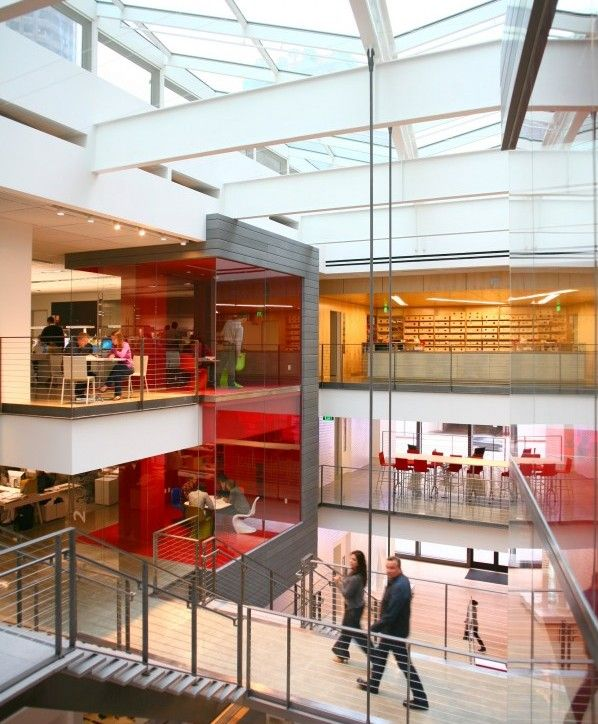 A N Blog Gensler S New Los Angeles Digs Filled With Energy Archmind Pinterest Los