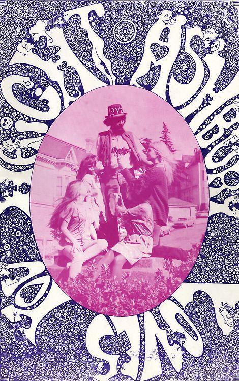 """""""Haight Ashbury Loves You"""" (1967) By Joshep Gomez."""