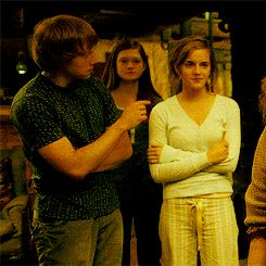 ron weasley ginny weasley harry potter Hermione Granger romione molly weasley hp Harry Potter and the Half-Blood Prince harry potter 6