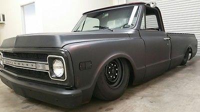 1970 Chevrolet C10 Pickup Custom Bagged Rat Rod