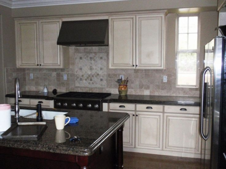 White Chalk Paint For Free Standing Kitchen Cabinets For ...