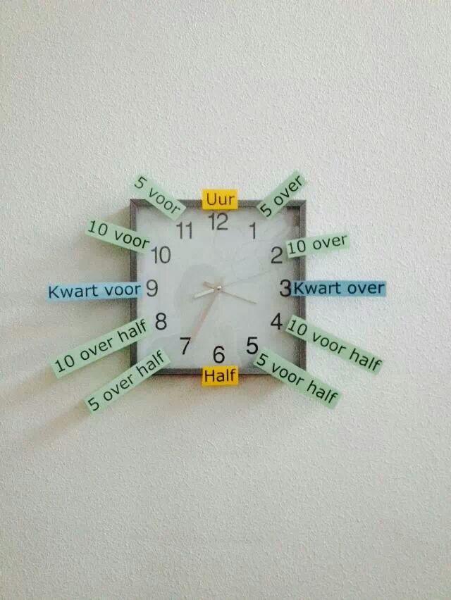 Klokkijken - analoog