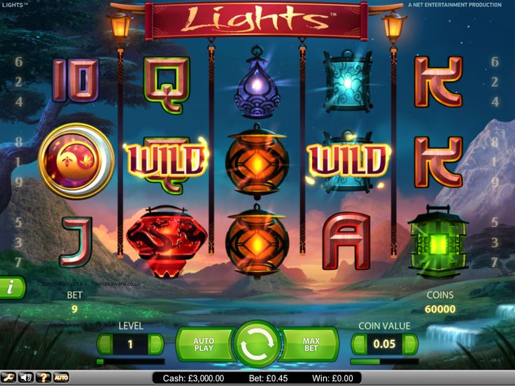 On your #mobile devices, play Lights Touch #slots with a sign up bonus of £5 and enjoy big wins the Chinese way
