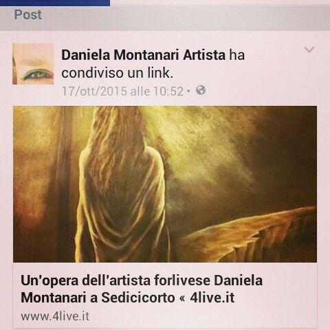 Grazie a 4live!  http://www.4live.it/2015/10/unopera-dellartista-forlivese-daniela-montanari-a-sedicicorto/