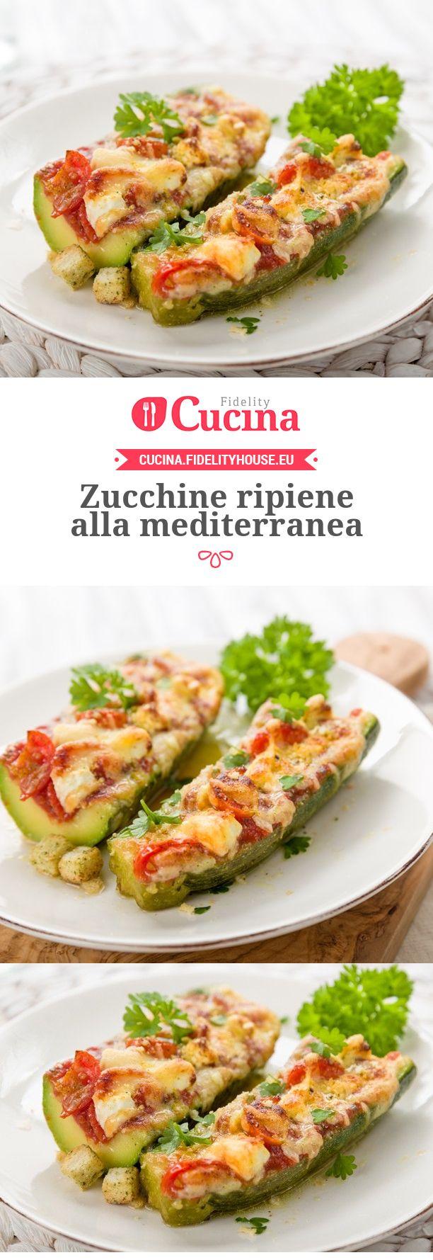 #Zucchine ripiene alla mediterranea