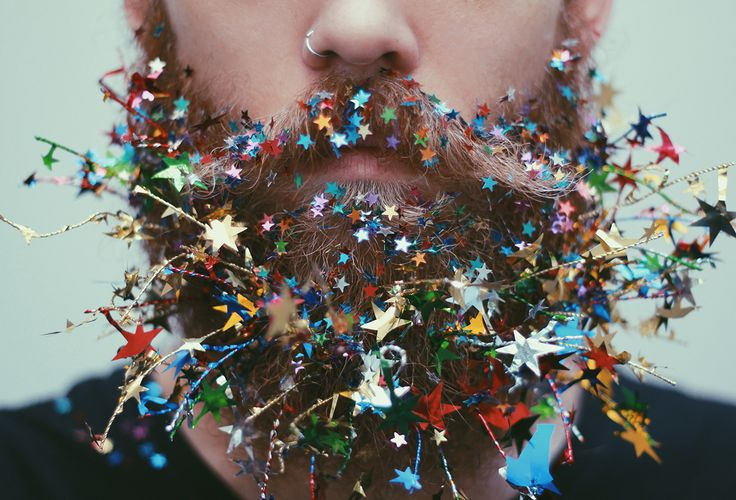 The Gay Beards: Glitter Moustaches and Flower Beards Straight out of Portland, Oregon | Yatzer