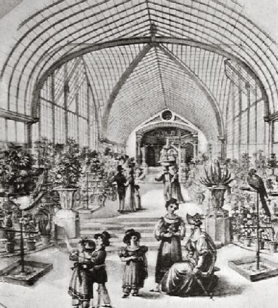 On of the premier shopping malls of Regency London was the Western Exchange, also referred to as the Bond Street Bazaar.