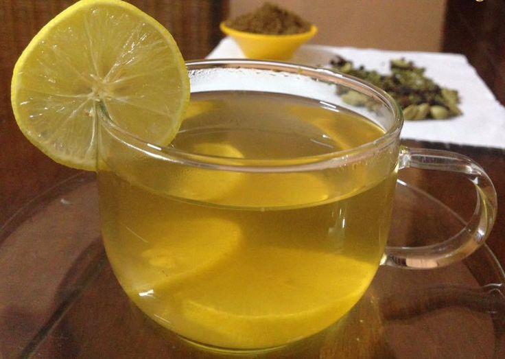 Lemon Masala Tea - Healthy Tea